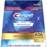 CREST 3D white Glamorous white whitestrips 14 treatments